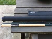 """Airflo Delta Plus 15"""" 10-11 Salmon Fly Rod Nr Mint Condition with Bag & Tube"""