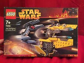 Star Wars Lego - Jedi Starfighter & Vulture Droid 7256