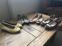 Girl's size 2 shoe bundle including River Island
