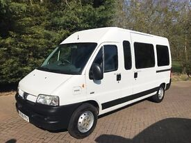 Peugeot Boxer 2.8 HDi 350 Minibus 17 Seater High Roof Window Van 4dr (LWB)