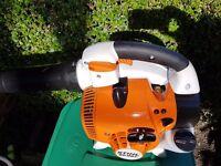 stihl bg86,07.2016 petrol leaf,blower,SEE VIDEO! as sh86,bg85,sh85 in Excellent condition!
