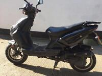2014 Direct Bike 50cc learner legal 50 cc. Has MOT. Runs good. Good beginner bike.