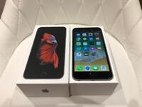 iPhone 6S Plus 64GB Black Factory Unlocked Excellent Condition Boxed with Charging Lead