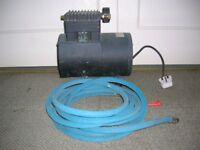 Thomas Air Compressor Inflation Pump Model 1007CP72-991D 240v AC Made USA