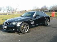 05 Chrysler Crossfire 3dr in Black immaculate Condition