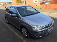 VAUXHALL CORSA 1.2 SXI PLUS 06 PLATE 3 DOOR HATCH 59,000 MILES