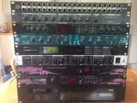Studio equipment - TC Finalizer 96K Studio mastering processor - FX Units - Reverbs, Delays,