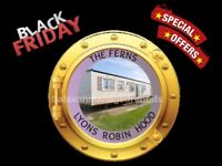 BLACK FRIDAY OFFERS: THE FERNS: LYONS ROBIN HOOD, RHYL, N.WALES: SLEEPS 7 MAX, NO PETS