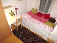 Single room available now in a quite house located close to Walthamstow Central /Zone 3
