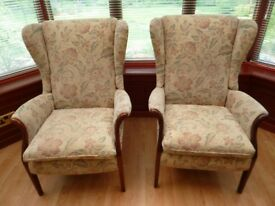 PARKER KNOLL FROXFIELD ARMCHAIRS (2)
