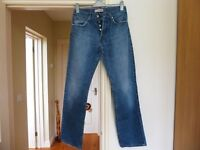 """4 Pairs of Button Fly Lee Cooper Jeans 30"""" waist x 32"""" leg"""