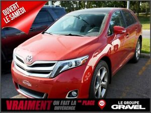 2014 Toyota Venza LIMITED 4WD GPS CUIR TOIT PANO