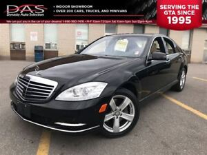 2010 Mercedes-Benz S-Class S450 4MATIC NAVIGATION/LEATHER/SUNROO