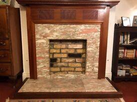 Granite & Hardwood Fire Surround