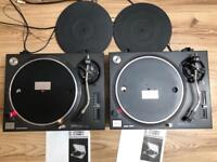 Vintage Technics SL1210 Turntables Decks with original manual operating instructions + DELIVERY