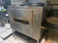 Pizza oven 32 inch belt system