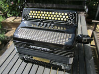 Shand Excelsior 3 Row B/C/C# Button Accordion