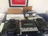 Dennon DJ SC2900 Digital Controller & Media player & Numark M6 USB Mixer