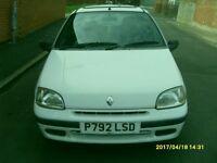 CLASSIC MK1 CLIO..1.2cc..5 DOORS..WHITE..MOT
