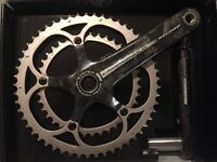 Campagnolo Record 10 Speed Ultra Torque Crankset 53/39, 172.5 Cranks