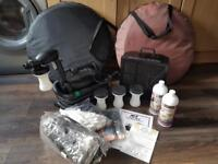 Spray Tan Machine, Extractor Fan,Tents and accessories.