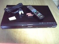 "Panasonic DVD/HDD Freeview recorder together with Sony 14"" Flatscreen TV"