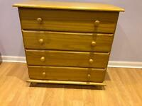 Julian Bowen solid pine chest of drawers £50