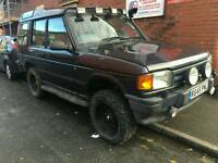 LAND ROVER DISCOVERY 2.5 TDI OFF ROADING SNORKEL CHEAP BARGAIN