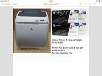 Printer and cartridges