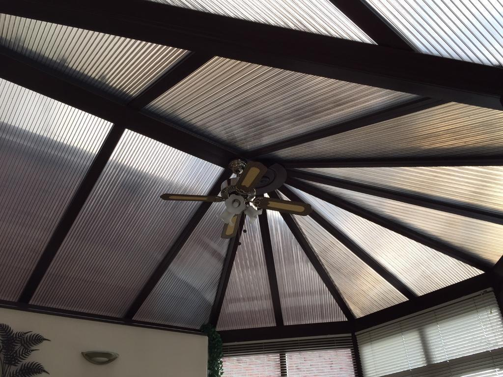 Triple Polycarbonate Roof Sheets