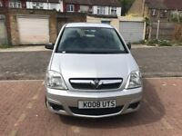 2008 Vauxhall Meriva 1.3 CDTi 16v Life 5dr Manual @07445775115