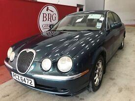 Jaguar S-Type (green) 2003