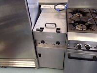 CATERING COMMERCIAL TWIN TANK VALENTINE FRYER CHICKEN SHOP NUGGET TAKE AWAY FAST FOOD CHIPS KEBAB