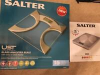 Body weight scale and kitchen measuring scale