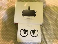 Oculus Rift CV1 + Oculus Touch - VR Headset, Sensors, Controllers, Remote and Dongle
