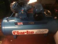 Air compressor. 3hp 1ph Clarkes