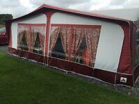 Dorems Caravan Awning size 16
