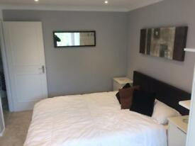 Double room with ensuite, fully furnished