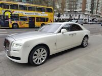 Rolls Royce Ghost Series 2 Hire - Wedding Car Hire - Rolls Royce Hire - Rolls Royce Phantom Hire