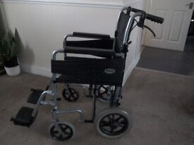 Days escape wheelchair. Handlebar brakes. Good condition