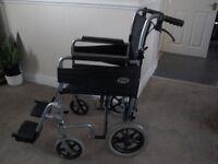 Days escape wheelchair. Handlebar brakes. Good condition