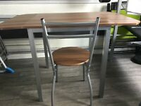 Extendable dinning table 4 chairs (still got due to time waster)