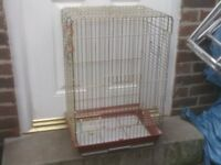 PARROT CAGE WITH OPEN TOP £15