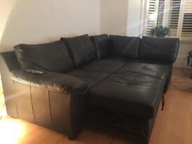Large L Shaped sofa bed