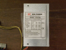 WinPower ATX-400 400W ATX Power Supply (PC PSU Switching): FULLY TESTED