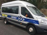 17 seater minibus No VAT