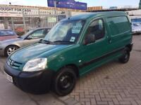 **REDUCED** 2007 07 PEUGEOT PARTNER VAN HDI TURBO DIESEL FULLY PLYLINED ONE OWNER FROM NEW - NO VAT