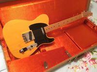 Fender 52 Reissue Telecaster USA Electric Guitar 50s 60s 56 58 64 59 62 65 Stratocaster Gibson 1952