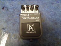 Beta Aivin DD-2 Digital Delay Pedal