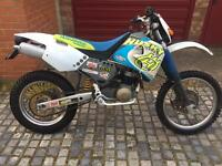 Husqvarna te 410 road legal enduro bike